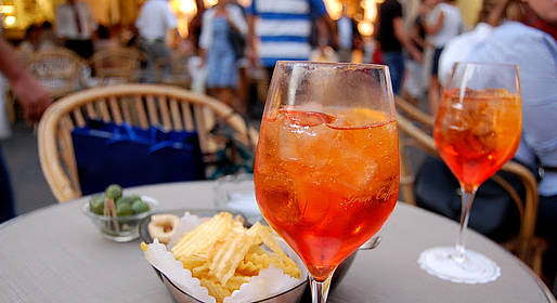 Cocktails on Capri