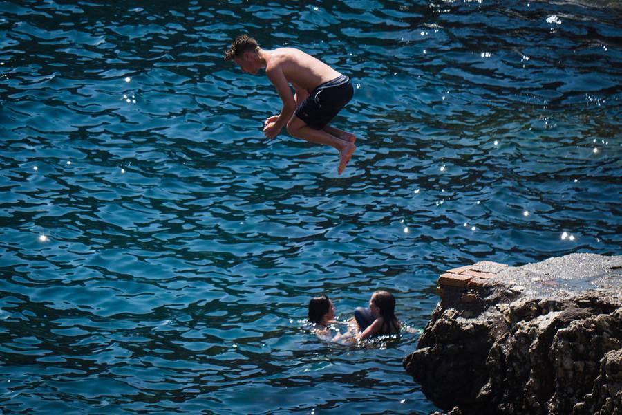Visiting Capri with Children
