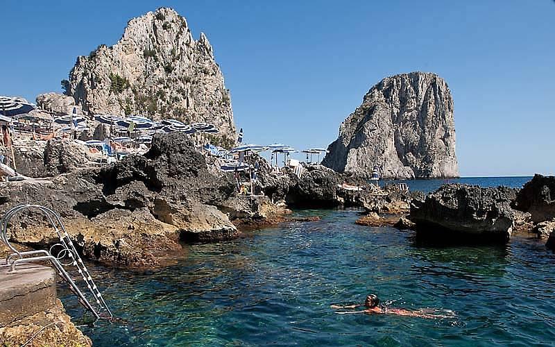 Le spiagge di Capri