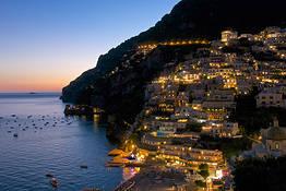 Vida noturna na Costa Amalfitana