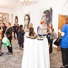 Liquid art system's newest showroom in London
