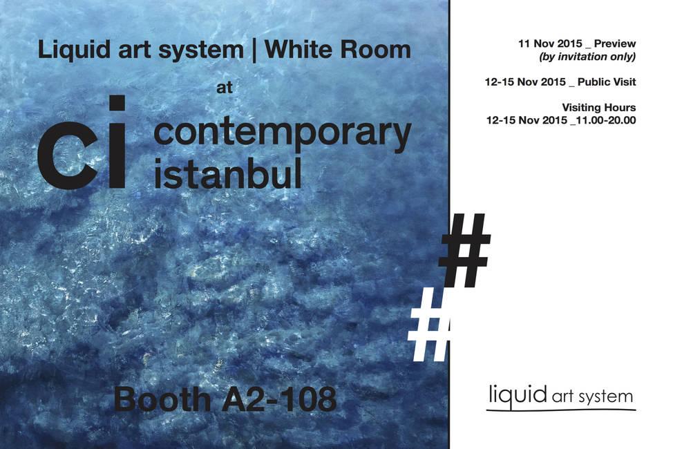 Liquid art system at Contemporary Istanbul 2015