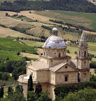 Locanda dell'Amorosa - Itinerary: L'Amorosa - Montepulciano - Pienza
