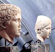 La centrale delle statue