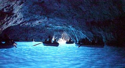 Capri - The Grotta Azzurra