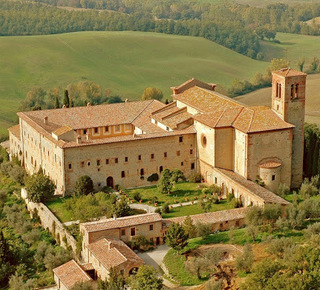 St Anna in Camprena and The English Patient Hotel