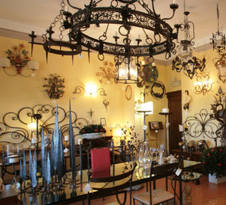Handcrafted wrought iron  Hotel