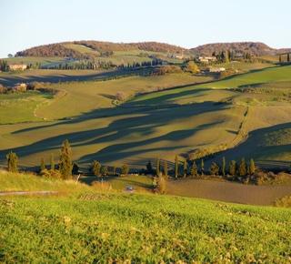 Viewpoint near Monticchiello Hotel