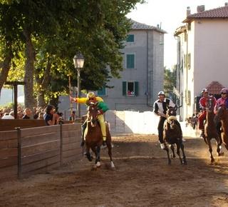Palio of the Contrade di Castel del Piano Hotel