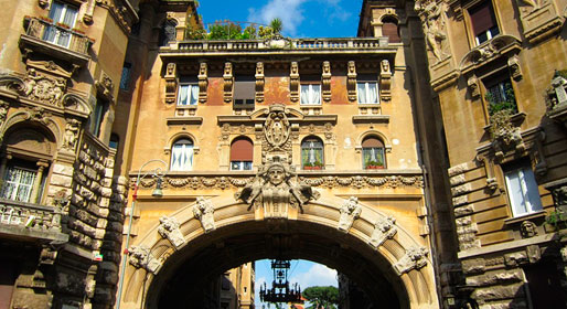 Unexpected Architecture: The Quartiere Coppedè