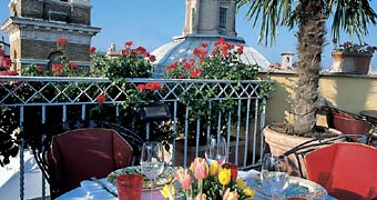 Hotel Raphael Relais & Châteaux Roma Piazza di Spagna hotels