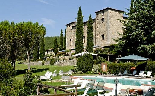 Gaiole Chianti Villas With Pools
