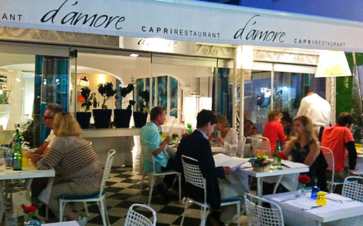 D'Amore Restaurantes Capri