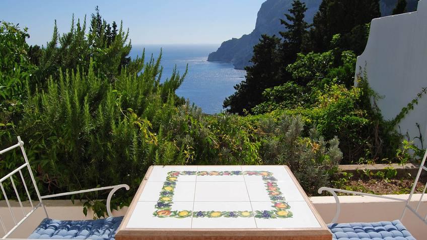 Villa Solaria House rental Capri