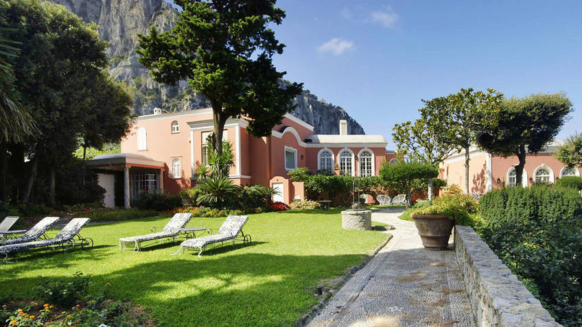 Villa Camelia Hotels And B B On Capri