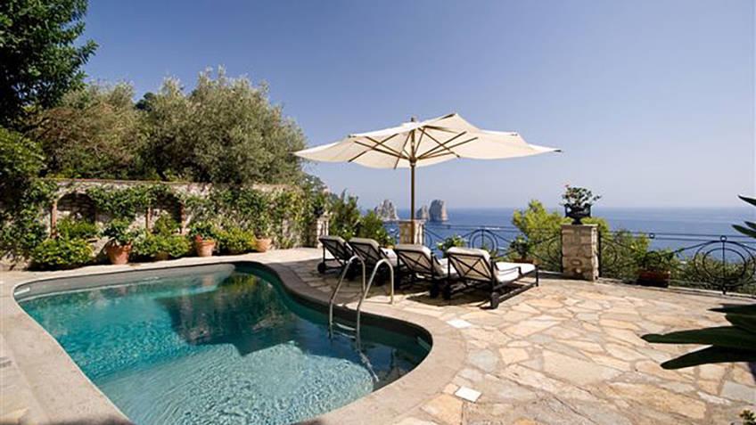 Villa Faraglioni Luxury Villas Capri