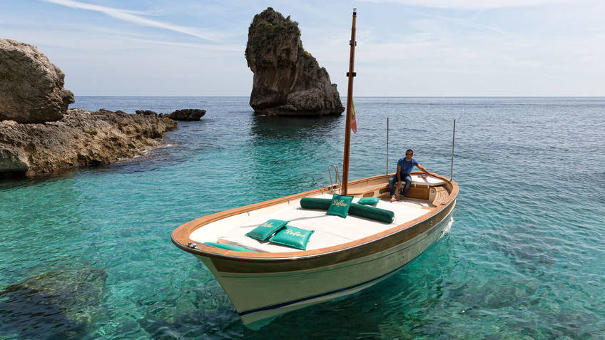 Bagni Tiberio Boats Excursions by sea Capri
