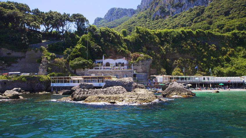 Bagni di Tiberio Ristoranti Capri