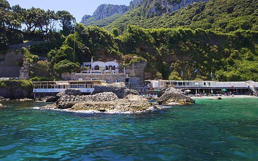 Bagni di Tiberio Restaurantes Capri