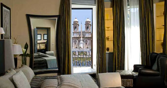 The Inn & the View at the Spanish Steps Roma Villa Borghese hotels