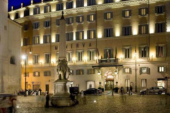 Grand hotel de la minerve roma and 38 handpicked hotels for Grand hotel rome