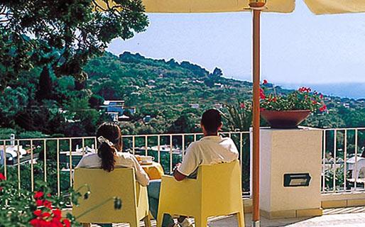 Senaria Hotel 3 estrelas Anacapri