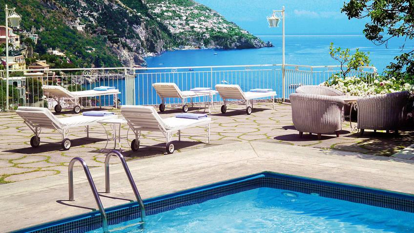 Hotel Poseidon Hotel 4 estrelas Positano