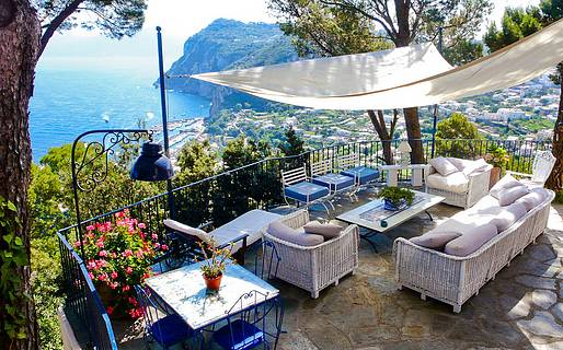 La Casa nel Bosco House rental Capri