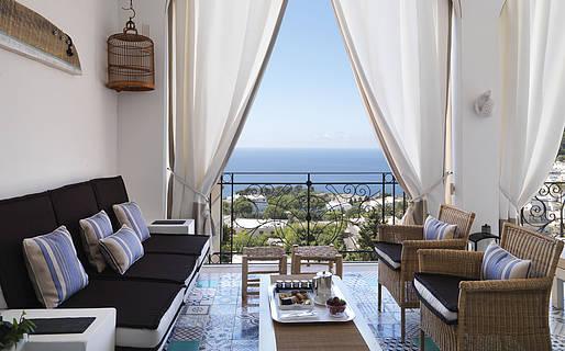 Capri Tiberio Palace Hotel 5 estrelas Capri