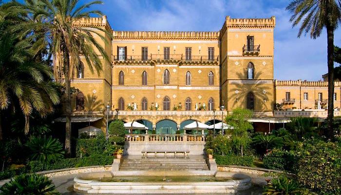 Villa Lampedusa Palermo Storia