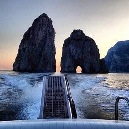 Capri Boat Service Luxury - Sunset Tour by Itama 38 Speedboat