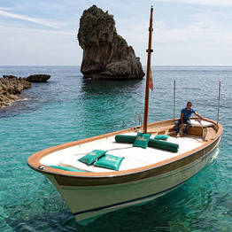 Bagni Tiberio Boats - Island Boat Tour + Restaurant + Beach: All-inclusive